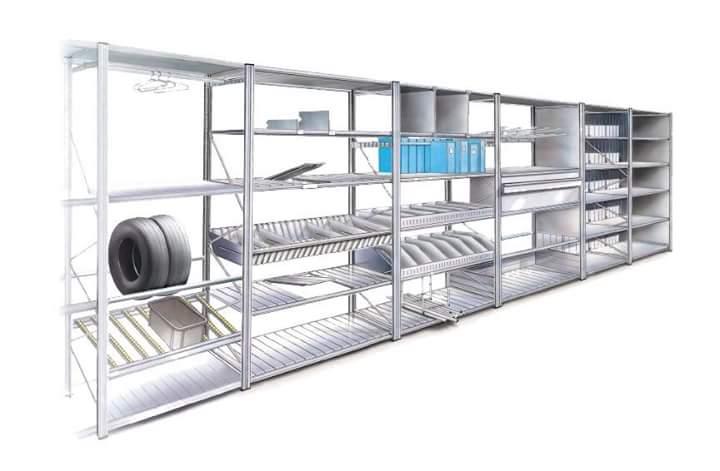 etagere industrielle